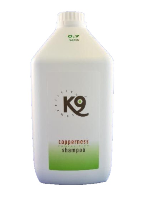 K9 Copperness Schampo 2,7liter
