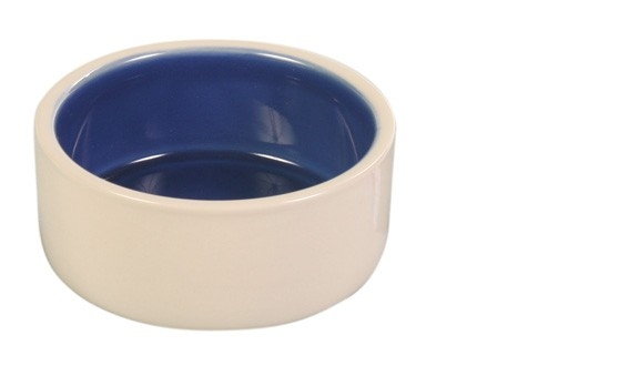 Trixie Keramikskål Beige/Blå 0,4 liter