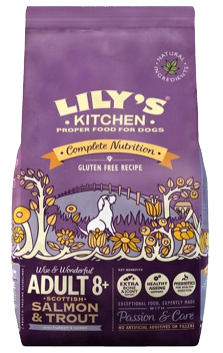 Lily's Kitchen Adult 8+ Salmon & Trout 2.5kg