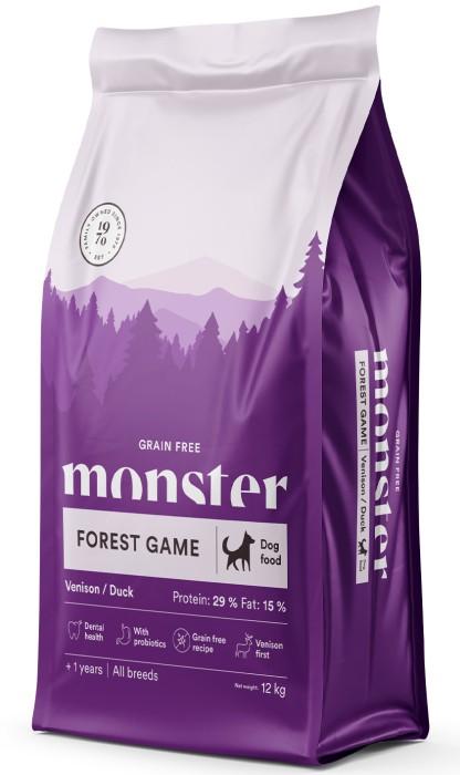 Monster GrainFree Forest Game, 12kg