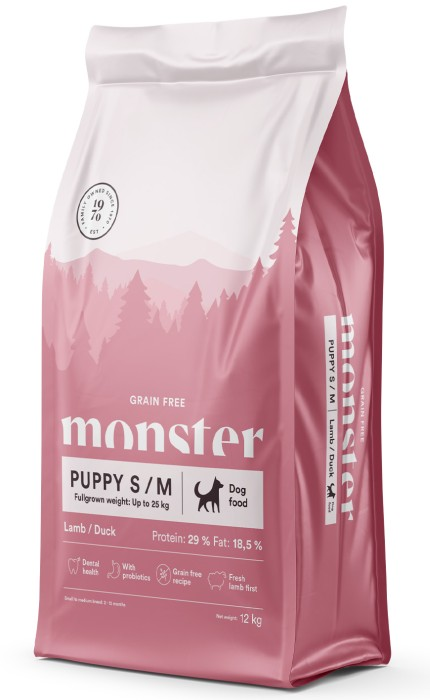 Monster GrainFree Puppy S/M 12kg