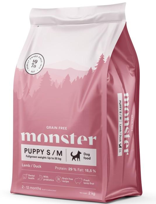 Monster GrainFree Puppy S/M, 2kg