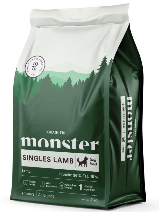 Monster GrainFree Singles Lamb 2kg