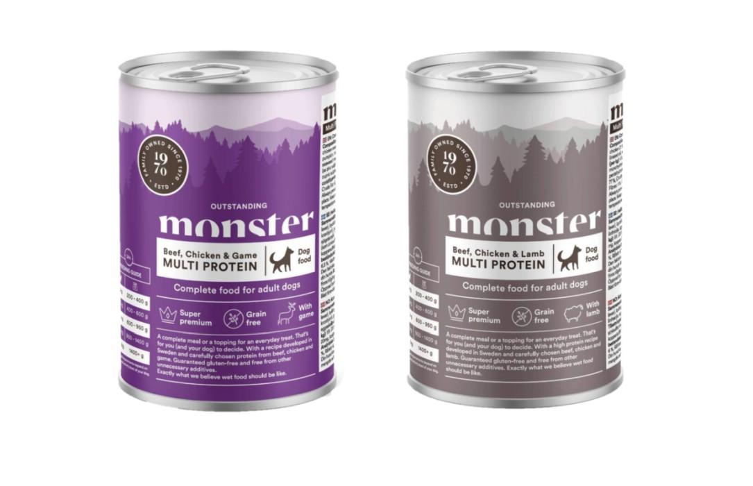 Monster Våtfoder Multi Protein Adult