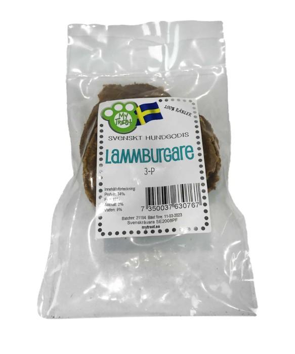 My Treat Lammburgare, 3-pack