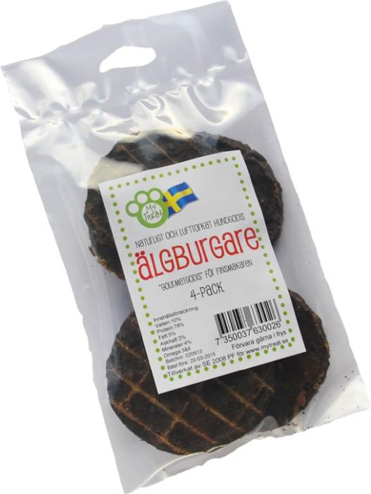 My Treat Älgburgare, 4-pack