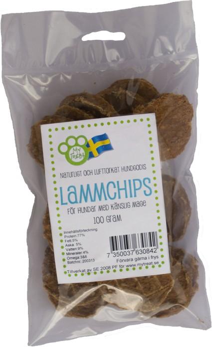 My Treat Lammchips, 100g