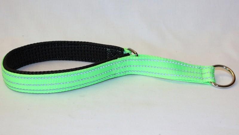 Alac Nomehalsband Halvstryp Grön 18mm