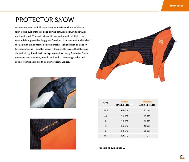 Non-Stop Dogwear Protector Snow, Hane