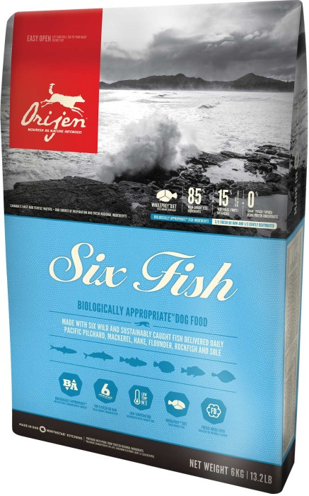 Orijen 6 Fish Dog 11,4kg