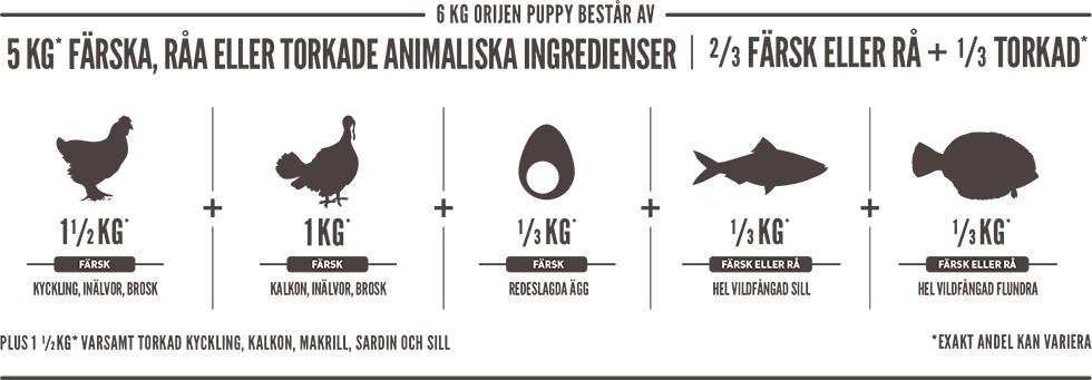 Orijen Puppy 2kg