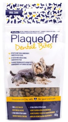 SwedenCare Plaque Off Dental Bites 60gr