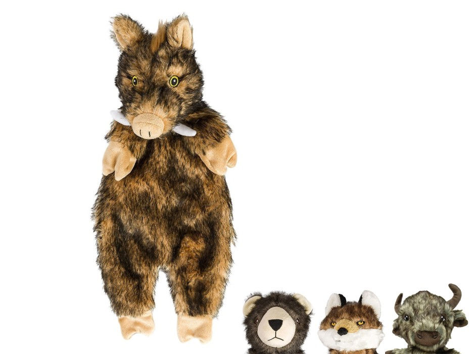 Plyschleksak Furry Skinneeez 33cm