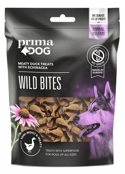 PrimaDog Wild Bites, Anka & Solhatt 150g