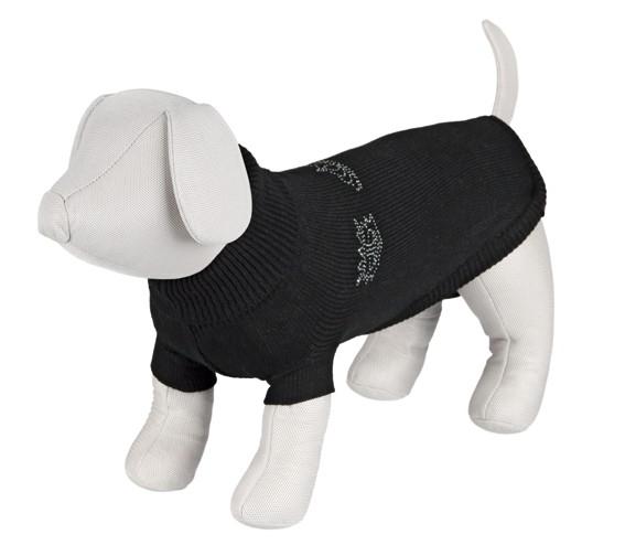 Pullover Kingston Svart m juvel 30 cm