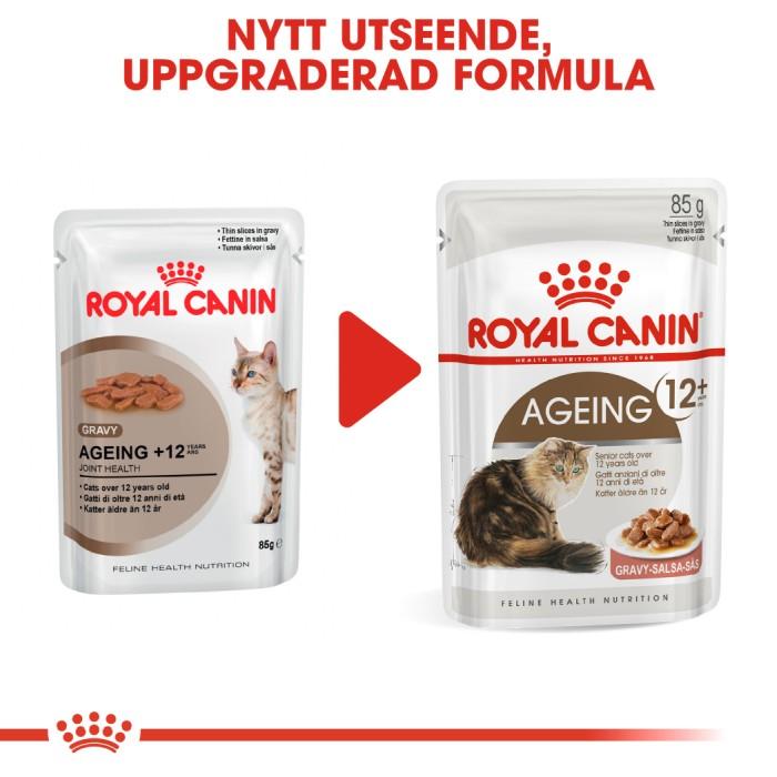 Royal Canin Ageing +12 Gravy Våtfoder, 12x85g