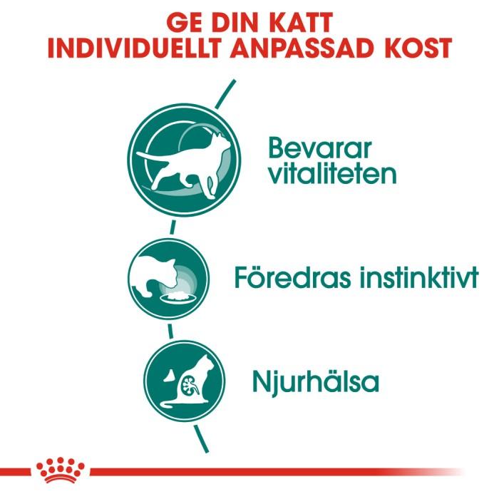 Royal Canin Instinctive +7 Gravy Våtfoder, 12x85g