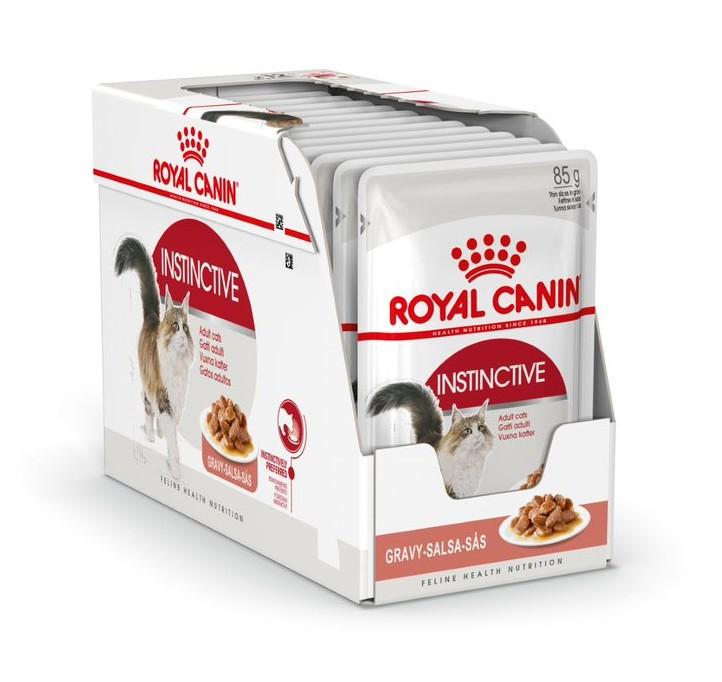 Royal Canin Instinctive Gravy Våtfoder, 12x85g