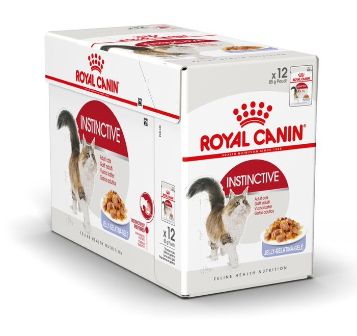 Royal Canin Instinctive Jelly Våtfoder 12x85g
