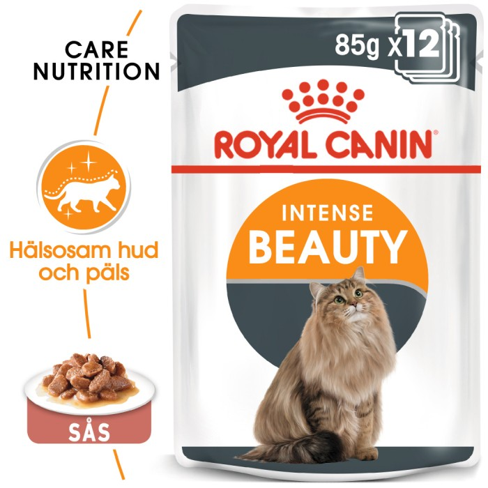Royal Canin Intense Beauty Gravy Våtfoder 12 x 85gr