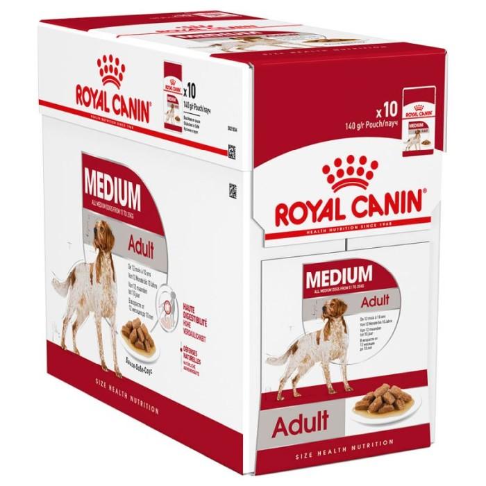 Royal Canin Medium Adult Våtfoder, 10x140g