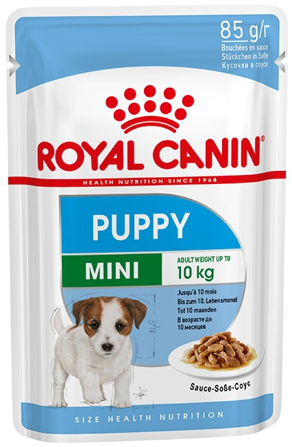 Royal Canin Mini Puppy 12x85g - Våtfoder