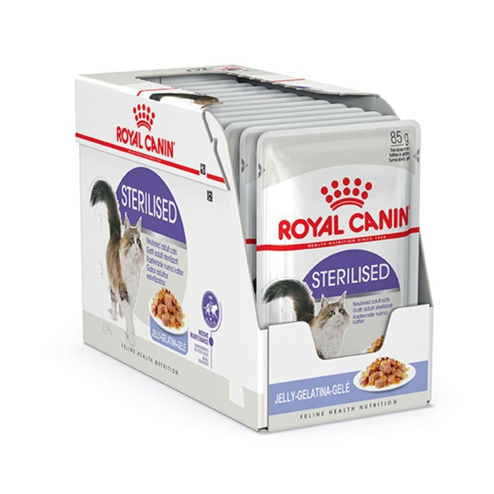 Royal Canin Sterilised Jelly Våtfoder 12x85gr