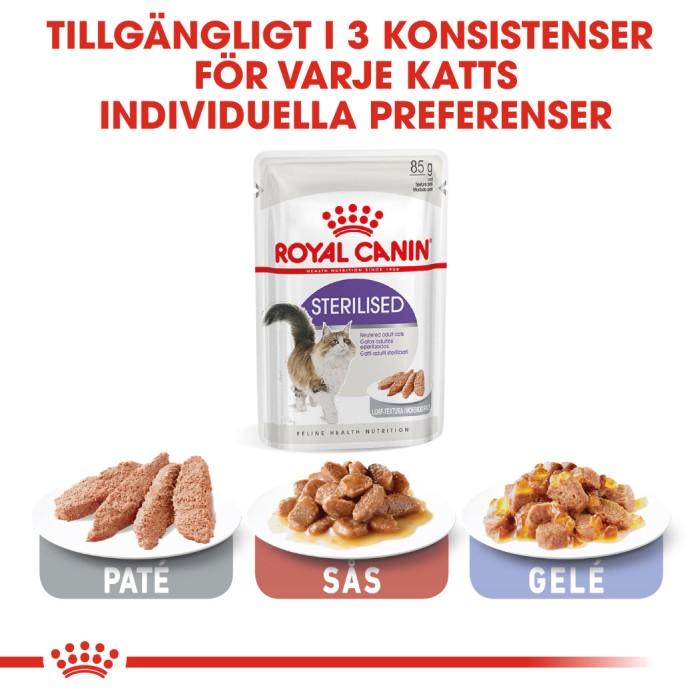 Royal Canin Sterilised Loaf Våtfoder, 12x85g