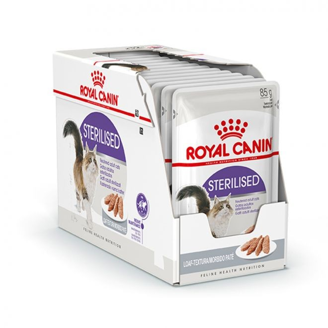 Royal Canin Sterilised Loaf Våtfoder 12x85gr