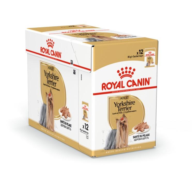 Royal Canin Yorkshire Terrier Adult Våtfoder, 12x85g