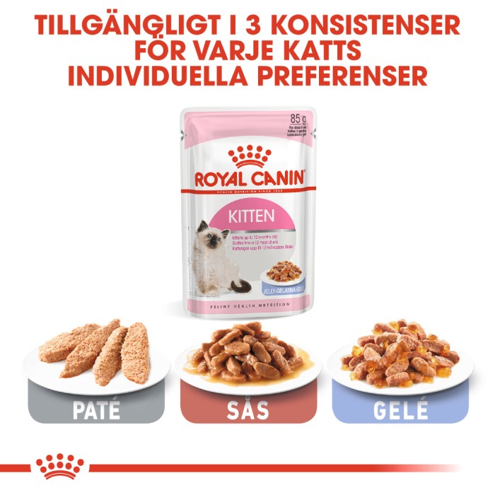 Royal Canin Kitten Jelly Våtfoder 12x85gr