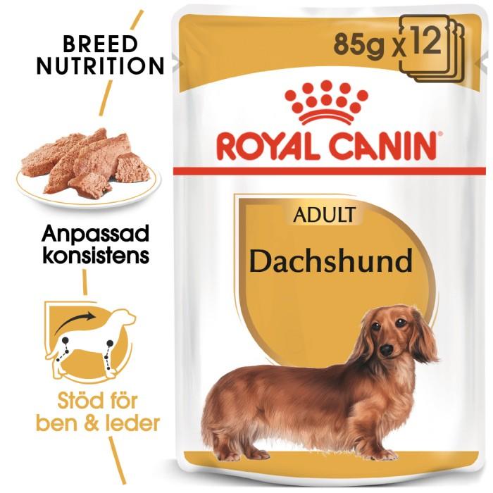 Royal Canin Dachshund Adult Våtfoder 12 x 85gr