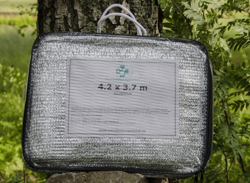 Svenska Djurapoteket Silverduk L 3,7 x 4,2m