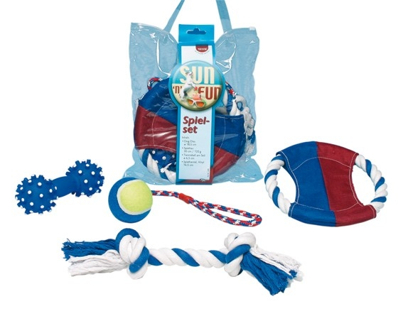 Trixie Sun'n'Fun Leksakset 4 leksaker