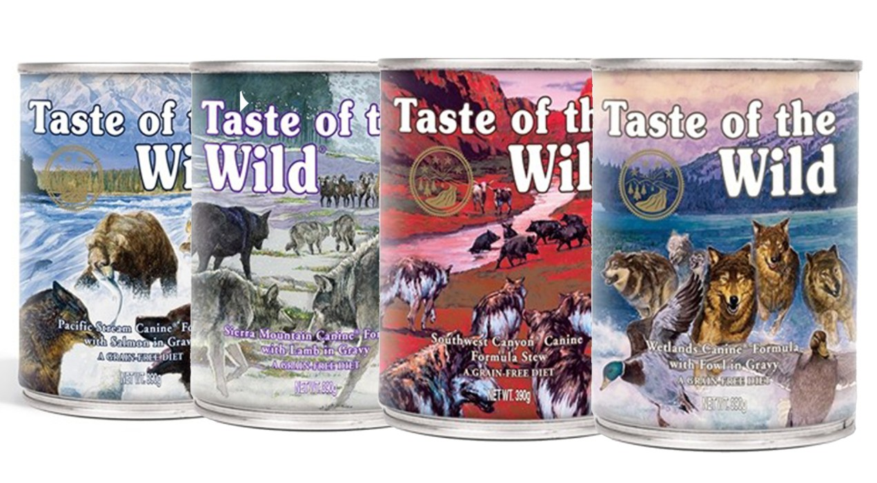 Taste Of The Wild Våtfoder 390gr