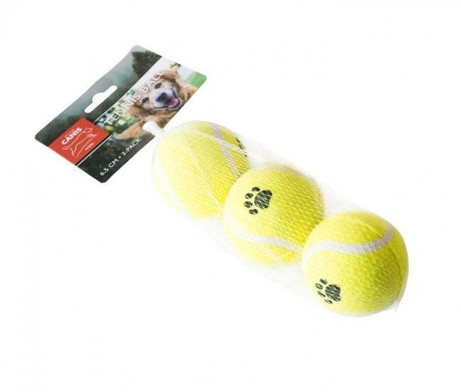Active Canis Tennisbollar 3-pack 6,5cm