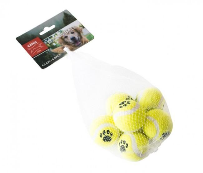 Active Canis Tennisbollar 6-pack 4,5cm