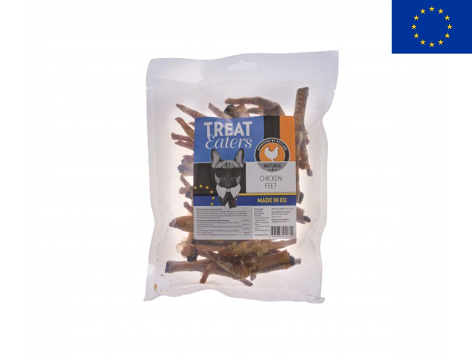TreatEaters Chicken Feet 250g EU