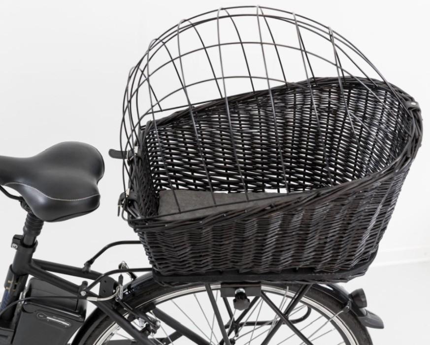 Trixie Cykelkorg Pakethållare, Svart