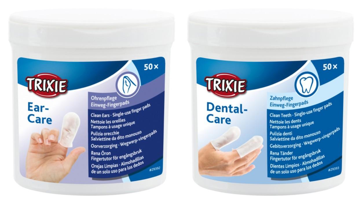 Trixie Fingerpadskit för vård av Öron & Tänder