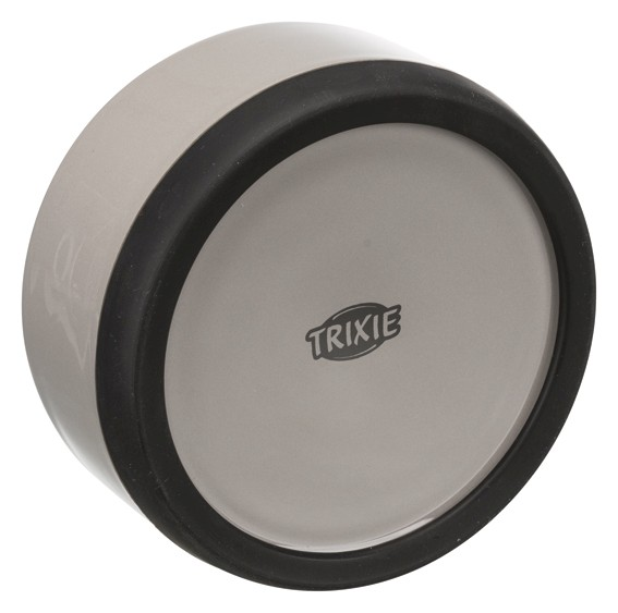 Trixie Keramikskål m gummibotten 0,75 liter
