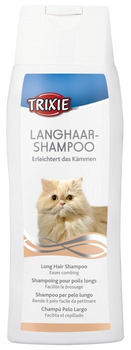 Trixie Långhårsschampo till katt, 250ml