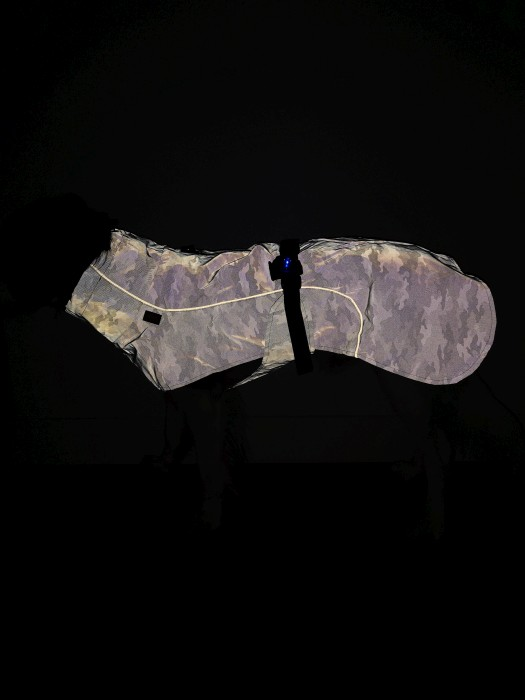 Trixie Regntäcke Lunas i reflextyg 33cm