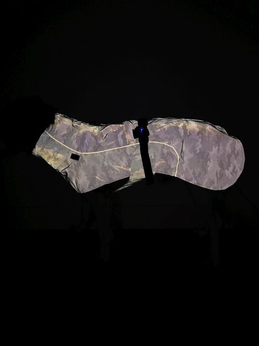 Trixie Regntäcke Lunas i reflextyg 50cm