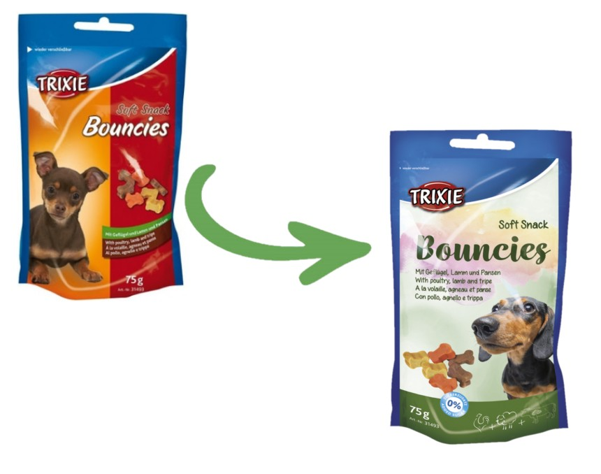 Trixie Soft Snack Bouncies 75gr