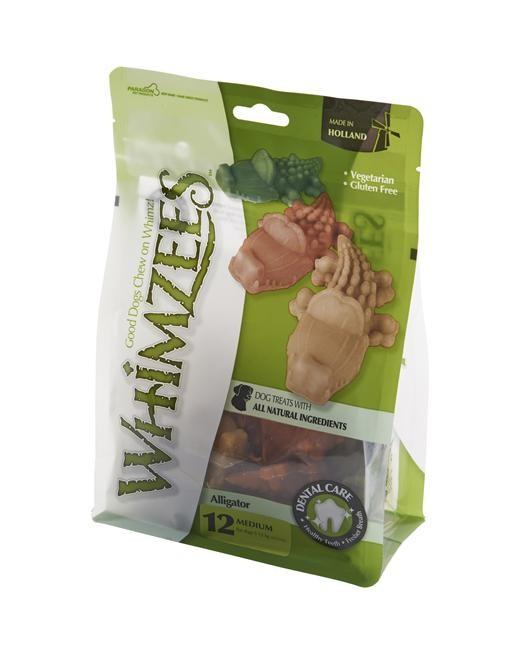 Whimzees Tuggben Alligator M 12-pack